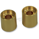 Gold 1 in. Riser Extensions for 1 in. Handlebars - LA-7413-21