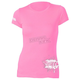 Womens Pink Powderpuff T-Shirt
