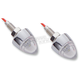 Single Function Bullet Mini Clear LED Marker Lights - 402240