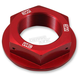 Red Steering Stem Nut - 24-365