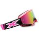 Fluorescent Pink/Black X-Fade Volcano Goggles - 067-10200