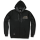 Mens Black Sight Hoody