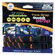 Black/Orange Medium-Duty Stretch Straps - 2014-005