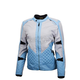 Womens Gray/Blue Dominion Jacket