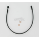 Black Pearl Designer Series 3/8 in./10mm 180 Degree Upper Front Brake Line - 47625