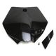 Black Front Number Plate - 2253010001
