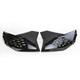 Black Radiator Shrouds - 2252990001