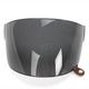 Dark Smoke Flat Shield with Brown Tab for Bullitt Helmets - 8013387