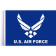 Air Force Motorcycle Flag - FLG-AFL