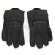Womens Black 270 Leather Gloves