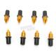 Yellow Spike Windscreen Screw Kit - 17-36024