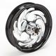 Black 16 x 3.5 Savage Eclipse One-Piece Wheel - 16350-9950-85E