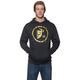 Charcoal/Gold Gasket Pullover Hoody