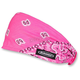 Pink/White/Black Paisley Mini Doo-Z Headwrap - DZ02-200