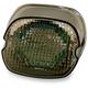 Smoke Oval Taillights w/o License Plate Illumination Window - GEN2-LD-S