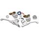 Chrome Handlebar Control Kit - 0062-4019-CH