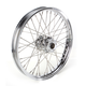 Front Chrome 21 x 2.15 40-Spoke Laced Wheel Assembly for Single Disc - 0203-0084