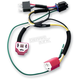 Dual H4 Harness for Plug-And-Play Diamond Star Headlight Modulator - 01080
