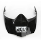 Black AX-8 Dual Sport Evo Visor w/Screws - KIT76108001