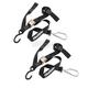 Black 1-1/2 in. Swivel Soft Hook Tie Downs - 100541