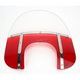 Memphis Fats 17 in. Windshield with 9 in. Headlight Opening for Big Nacelle Headlight - MEM6822