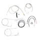 Stainless Braided Handlebar Cable and Brake Line Kit for Use w/18 in. - 20 in. Ape Hangers - LA-8110KT2B-19