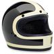 Vintage White/Gloss Black Gringo Tracker Helmet