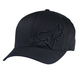 Black Flex 45 Flexfit Hat