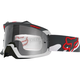 Snow Red/Grey Air Space Goggles - 15358-903-NS