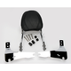 Complete Backrest/Mount Kit with Touring Backrest - 34-2210-01