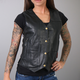Women's Black Ten Pocket Vest