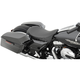 Black Smooth Low-Profile Solo Seat - 0801-0870