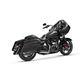Chrome Rockstar 2-Into-1 Exhaust System - 7210705