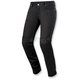 Women's Black Daisy Denim Pants