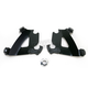 Black Mounting Plate Only Hardware for Cafe Fairing - MEB1895