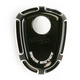 Black Beveled Ignition Switch Cover - 04-189