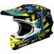 Black/Blue/Yellow VFX-W Grant 2 TC-3 Helmet