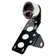 Polished Stainless Steel Model A Taillight/License Plate Bracket Kit w/Red Lens - 107-0024