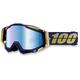 Blue/Gold Racecraft Renaissance Goggle w/Mirror Blue Lens - 50110-094-02