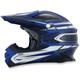 Blue Multi FX-21 Helmet