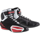 Black/White/Red Faster Vented Shoes