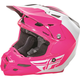 Pink/White/Black F2 Carbon Pure Helmet