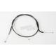 Black Pearl Designer Series Alternative Length Braided Throttle Cables for Custom Handlebars - 43196