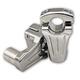 Chrome 2 in. Pivot Risers - 4R-P2CC02