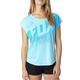 Women's  Acid Blue Fragmentation Shirt