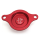 Red Oil Filter Cover - 60-0102-00-10