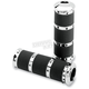 Chrome X-Large Contour Renthal Wrapped Grips - 0063-2010-CH