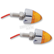 Single Function Bullet Mini Amber LED Marker Lights - 402250
