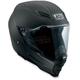 Flat Black AX-8 Dual Sport Evo Naked Helmet