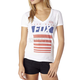 Women's Red White and True V-Neck T-Shirt